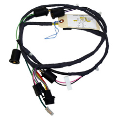 1963 REAR BODY TAILGATE HARNESS, Impala 4 door wagon, with power tailgate window (ea)