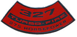 AIR CLEANER DECAL, 327-275