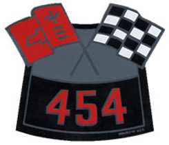 AIR CLEANER DECAL, 454 CROSS