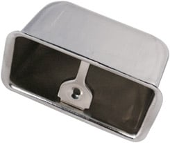 1958-59 REAR ASHTRAY, HT/CONV