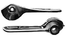 1958-60 CONVERTIBLE TOP LATCH, HANDLE