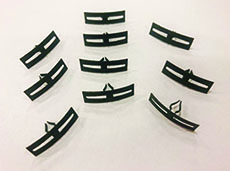 1958-60 HOOD TO COWL SEAL CLIPS (SET)