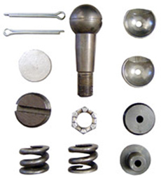 1958-1962 MANUAL STEERING CENTER LINK REBUILD KIT (EA)