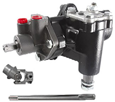 1958-1964 600 POWER STEERING BOX W/ INTERMEDIATE SHAFT KIT