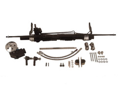 1958-64 RACK AND PINION KIT, 396/427/454/502/572 (for Ididit column) (kit)