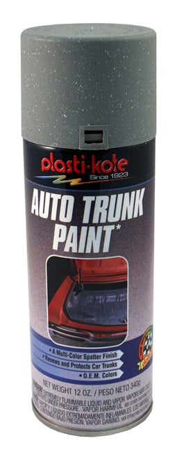 1958-65 TRUNK SPATTER PAINT, GREY AND WHITE (ea)