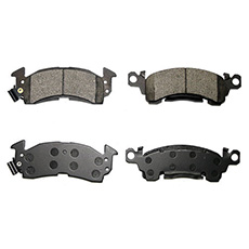 1958-68 FRONT BRAKE PADS (DISC CONVERSION) (set)