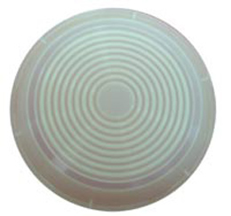 1958-68 DOME LIGHT LENS, ROUND, SEDANS & 68HT