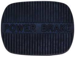1958-68 POWER BRAKE PEDAL PAD, MANUAL