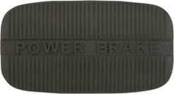 1958-68 POWER BRAKE PEDAL PAD, AUTOMATIC