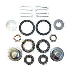 1958-68 WHEEL BEARINGS & SEALS, FRONT DISC CONVERSION ROTORS (set)