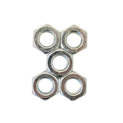 1958-70 WHEEL LUG NUT,DRUM OR DISC,SET OF 5 (set)