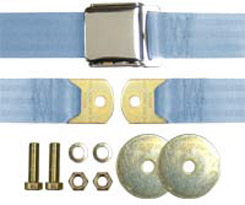 1958-70 SEAT BELT LT BLUE