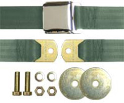 1958-70 SEAT BELT LT GREEN