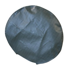 1958-76 SPARE TIRE COVER, HOUNDSTOOTH, FOR 15 INCH WHEEL (ea)