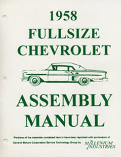 1958 ASSEMBLY MANUAL (ea)