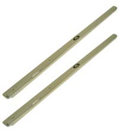 1958 DOOR SILL PLATES, 2 DR W/SCREW
