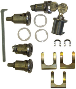 1958 IGNITION LOCK KIT, 2 & 4 DR. SEDANS (ea)
