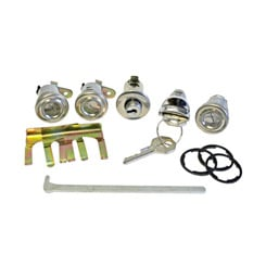 1958 IGNITION LOCK KIT 2&4 DR. HT. AND CONV. (set)