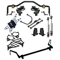 1958 AIR SUSPENSION SYSTEM ANALOG FOR IMPALA (kit)