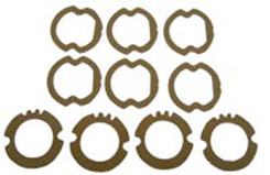 1958  PARKING/TAIL LIGHT LENS GASKETS