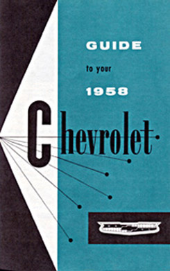 1958 OWNERS MANUAL (ea)