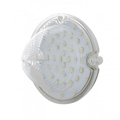 1958 PARKING LIGHT LENS, CLEAR, LED