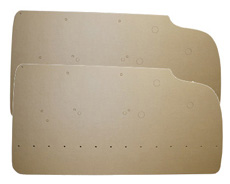 1959-60 DOOR PANEL BOARDS 2 DR. SEDAN