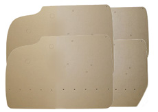 1959-60 DOOR PANEL BOARDS FRONT AND REAR 4 DR. HT
