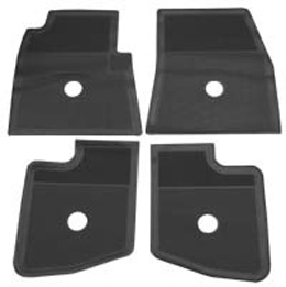 1959-60 ORIGINAL FLOOR MATS BLACK