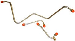 1959-61 FUEL PUMP TO CARB LINE, BB 3X2