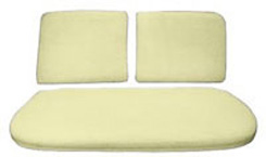 1959-68 SEAT BUN, FRONT, BENCH (3 PIECE SET)