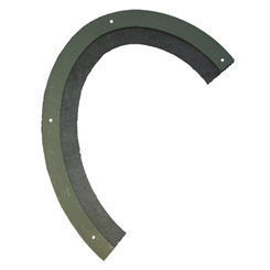 1959-60 GAS FILLER NECK PANEL SEAL & FLANGE, EL CAMINO (ea)