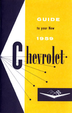 1959 OWNERS MANUAL (ea)