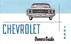 1960 OWNERS MANUAL (ea)