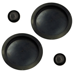 1961-64 COWL PLUGS UPPER (4 pc. set)