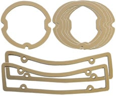 1961 PARKING/TAIL LIGHT LENS GASKETS