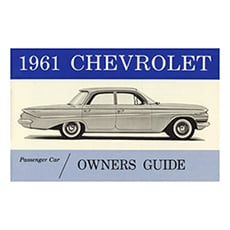1961 OWNERS MANUAL (ea)