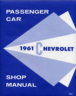 1961 SHOP MANUAL (ea)
