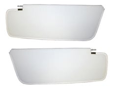 1961 SUNVISORS, HT AND SEDAN, STAR, WHITE