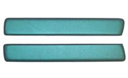1962-64 ARM REST PADS, AQUA
