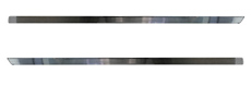 1962-1964 ROCKER PANEL MOULDINGS w/CLIPS