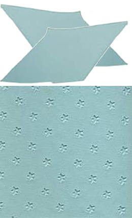 1962-64 SAIL PANELS, STAR AQUA