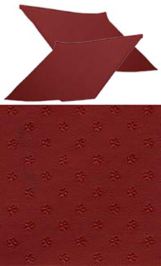1962-64 SAIL PANELS, STAR RED