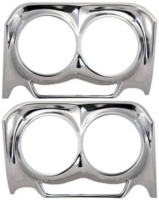 1962 HEADLIGHT BEZELS