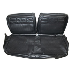 1962 SEAT COVER, FRONT, VINYL BENCH, REPLACEMENT, IMPALA, BLACK