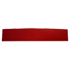 1963-64 CONVERTIBLE REAR SEAT PACKAGE TRAY (REAR SEAT DIVIDER) RED