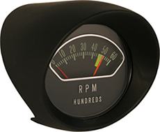 1963-64 TACHOMETER ASSEMBLY, SB & 409-340HP 6000 RPM (COMES WITH WIRING & SEAL)