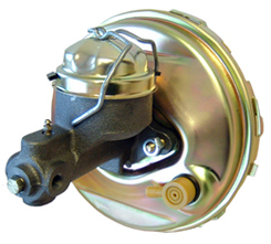 1963-66 POWER BRAKE BOOSTER W/MASTER CYLINDER (ea)