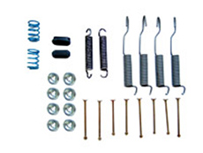 1963-70 BRAKE HARDWARE KIT, FRONT (does 2 wheels)